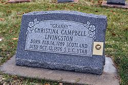 Christina Campbell Livingston headstone.jpg